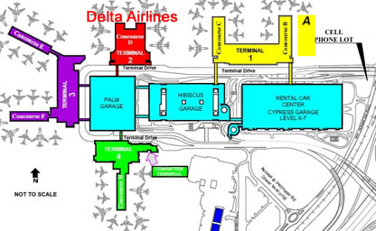 Fort Lauderdale Airport Terminals